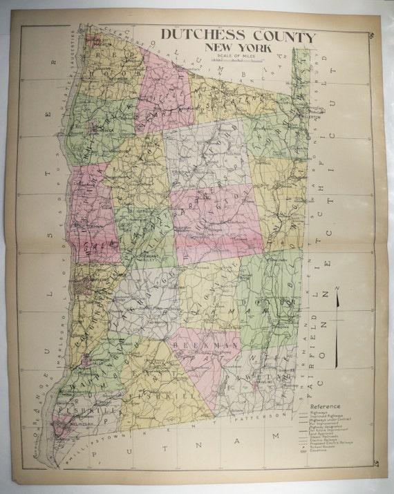 Dutchess County, NY  |New York Dutchess County Soils Maps