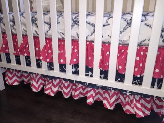 Hot Pink Crib Skirt 41