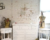 Painted Cottage Chic Shabby Romantic French Dresser DR827
