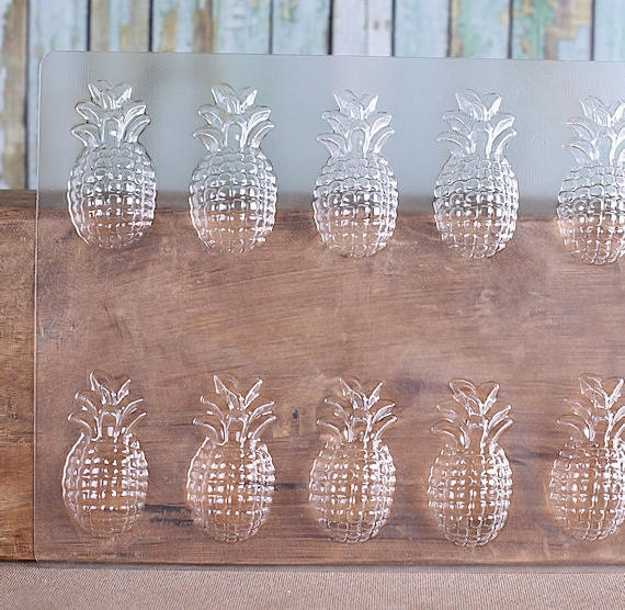 Pineapple Chocolate Molds Pineapple Candy Molds Fruit