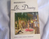 "Vintage Art Book. ""Bridgman's Life Drawing"". 1966. Artists Anatomical Body Reference. Nude Figure Drawings. George B. Bridgman. Paperback."
