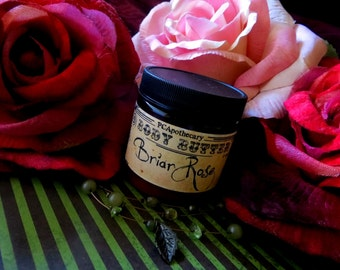 Briar Rose (body butter--roses, cloves, absinthe)