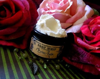 Briar Rose (soap whip--roses, cloves, absinthe)
