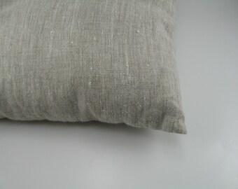 Handmade Decorative Linen Pillow Cover / Throw Pillow Cover / Cushion Case / Accent Pillow --- Oatmeal