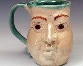 Funny Face Mug: Hold Your Breath and Count to Five