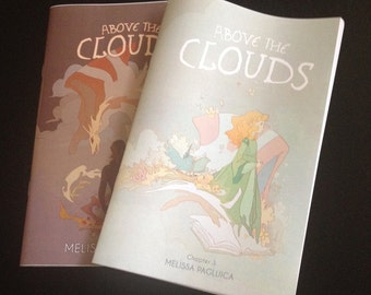 Chapter 2 & 3 - Above the Clouds comic books