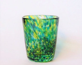 Shot glass in Green