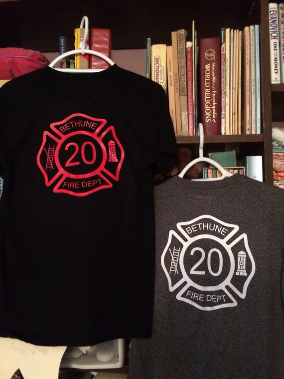 Custom Iron On Fireman Vinyl Decal Maltese Cross Decal - Custom vinyl decals for shirt