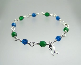 Pseudotumor Cerebri Intracranial Hypertension Awareness Bracelet