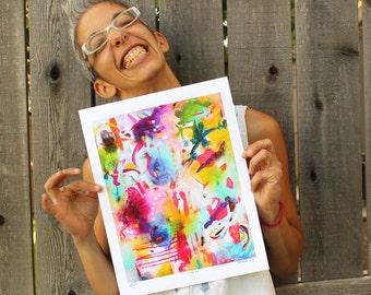 Fine Art Giclée Rainbow Reproduction Print