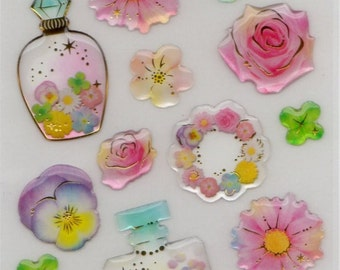 Kawaii epoxy stickers