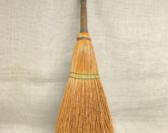 Broom , Antique Broom , Fireplace Broom , Hearth  , Sweeping , Witches Broom , Rustic Decor , Cleaning Supplies , Cleaning Tools , Chimney