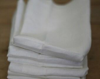 vintage linen napkins set of six