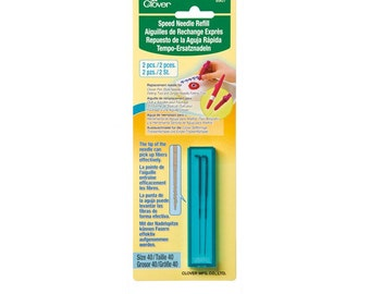 Clover Speed Needle REFILL For Pen Style Felting Tool Part No. 8907