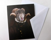 Sir Ovis Aries - Note Card