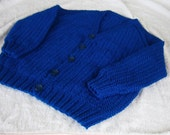 Royal Blue  Cardigan (reserved for Samantha Waldron)