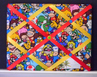 11 x 14 Nintendo Packed Characters Memory Board