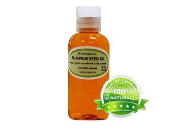 4 oz  Pure Pumpkin Seed Oil Organic Cold Pressed Unrefined