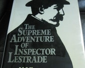 The Supreme Adventure of Inspector Lestrade by M. J. Trow, Sherlock Holmes Pastiche