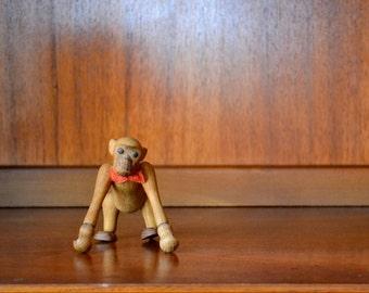 vintage mid-century zooline monkey figurine