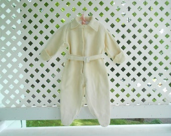 Vintage Baby Clothes Baby Sleeper Footed Pajamas Vintage Baby Clothes Baby Pajama