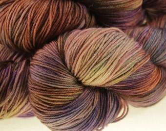 MADE to ORDER Choose Your Weight Hand Dyed Yarn - Ziggy Stardust
