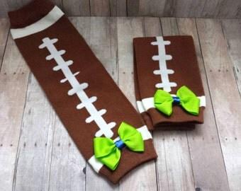 Baby Leg Warmers | Seahawks Leg Warmers | Toddler Leg Warmers | Bow Leg Warmers