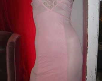 Vintage 1960 Pink Slip womens size small