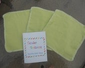 """30 Ct 1 Ply Tender Bottoms Baby Wipes 8"""" Squares"""