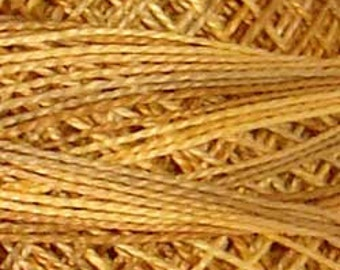 Size 8, JP2, Valdani Perle Cotton, Spun Gold, Embroidery Thread, Punch Needle, Embroidery, Penny Rugs, Sewing Accessory