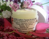 Moisturizing Face Cream, Herbal n' Floral,  Facial Skin Care, Organic, Problem skin, Day or Night Cream, Lavish Lotion