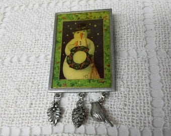 Marjolein Bastin Christmas Holiday Brooch