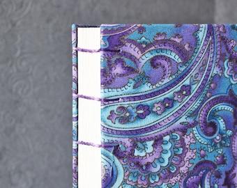 Watercolor Journal Mixed Media Journal Art Journal Gift Travelers Sketchbook 6x9 Inch Watercolor Sketchbook Fabric Journal Handbound Journal