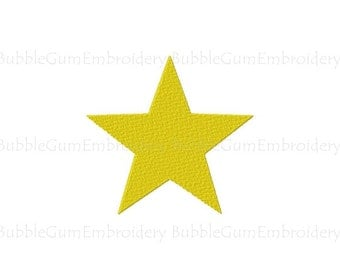 Star Embroidery Design Instant Download