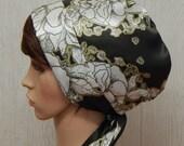 Satin Headscarf, Silky Head Scarf, Afro Hair Wrap, Jewish Head Covering, Summer Satin Bonnet, Tichel, Curly Hair Scarf