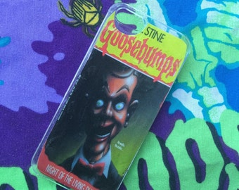 Goosebumps Night Of The Living Dummy iPhone 4 4s 5 5s 5c 6 6 Plus Samsung Galaxy s3 s4 Case