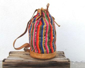 Rucksack Backpack Ethnic Southwestern Navajo