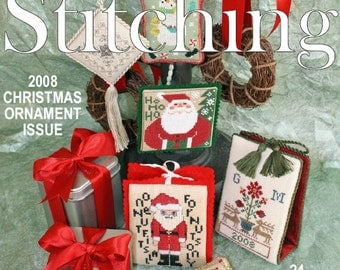 Issue 34 November 2008 - The Gift of Stitching Digital Magazine
