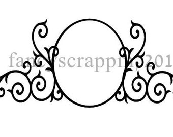 Beautiful Mailbox Design SVG Cutting File - Add Your Own Name To Personalize