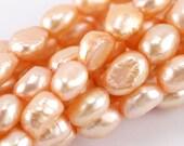 9x7mm Peach Potato Pearl