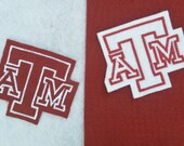 Texas A&M Aggies Applique/Patch/Feltie/Iron on