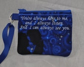 Doctor Who Inspired River Song Wallet Wristlet