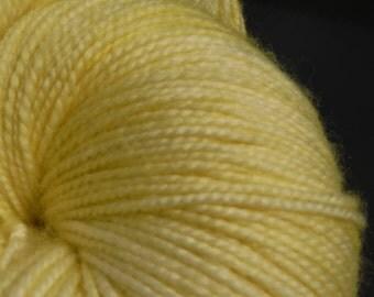 Merino/Cashmere/Nylon Jumbo High Twist Special Delivery Sock Yarn 600 yds-Sunbeam