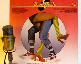 """ON SALE Motown Records Compilation Vinyl Record Album Lp Vintage 1960s Soul Funk Disco Dance """"Disc-O-Tech: #2"""" (1975 Motown w/""""Dancing Machi"""