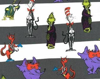 Robert Kaufman Dr. Seuss Spooktacular Suess Fabric - 1 yard