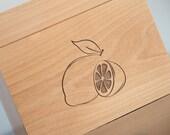 Recipe Box - Lemons