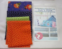 "Halloween Trick or Treat Candy Bag Pillowcase KIT PURPLE  13"" x 21"" #K6"