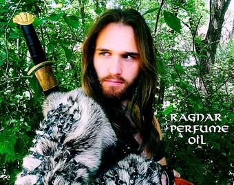 RAGNAR Perfume Oil - Viking Perfume - Cedar, Pine, Fir, Bergamot, Vetiver, Leather Accord, Musk, Ocean - The Vikings - Ragnar Lothbrok