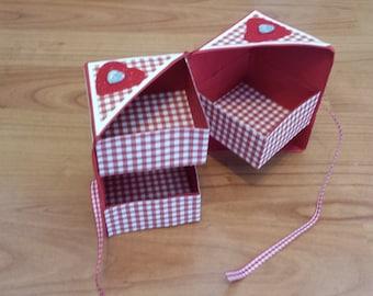 Hidden Drawer Jewelry Box Storage