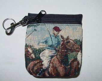 Polo Horse Rider  Belt Pack/Key Chain Combo,Polo Handbags